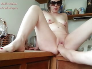 blowjob Kitchen Fisting British Milf.. mature