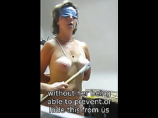 amateur enslaved blowjob