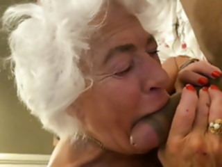 blowjob 80YO GRAY HAIRED GRANNY.. hardcore